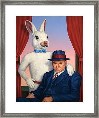 Harvey And Randall Framed Print by James W Johnson