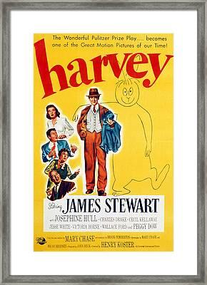 Harvey, Victoria Horne, Jesse White Framed Print by Everett