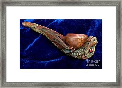Hatchling Dragon Framed Print by Padre Art