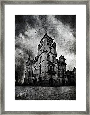 Haunted 2 Framed Print by Laura Melis