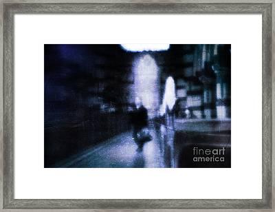 Haunted Framed Print by Andrew Paranavitana
