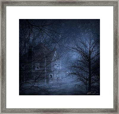 Haunted Place Framed Print by Svetlana Sewell