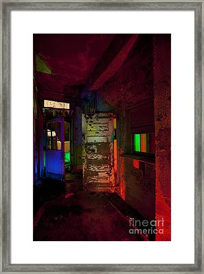 Haunted Stamford Hotel Framed Print by Keith Kapple