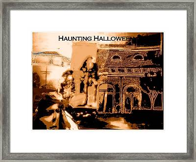 Haunting Halloween Framed Print by Marian Hebert