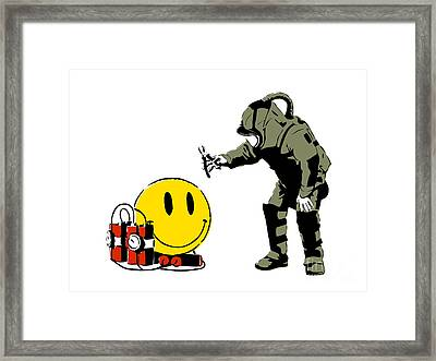 Have A Nice Day Framed Print by Pixel Chimp