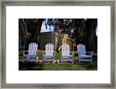 Have A Seat Framed Print by Christopher Holmes