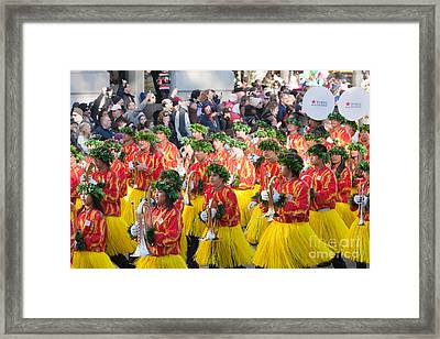 Hawaii All-state Marching Band IIi Framed Print by Clarence Holmes