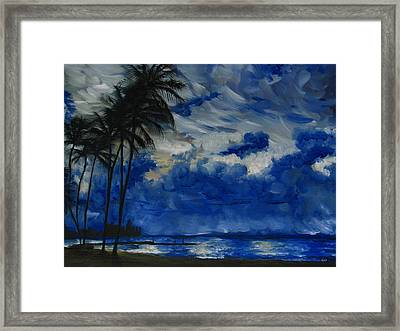Hawaiian Sunrise Framed Print by Sherry Robinson