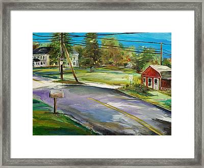 Hawk Hill Framed Print by Scott Nelson