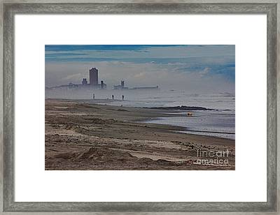 Hdr Beach Beaches Ocean Sea Seaview Waves Sandy Photos Pictures Photography Scenic Photograph Photo  Framed Print by Pictures HDR