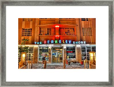 Hdr Hotel Framed Print by Joe Myeress