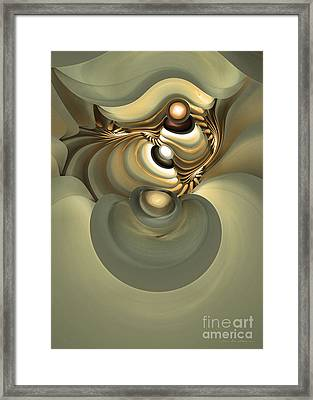 He Is Like His Father Framed Print by Sipo Liimatainen