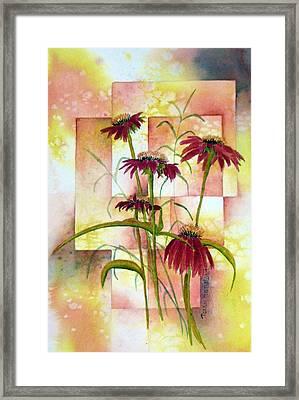 He Loves Me Framed Print by Terry Honstead