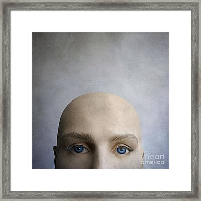 Head Of A Dummy. Framed Print by Bernard Jaubert