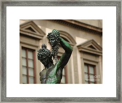 Head Of The Medussa Framed Print by Bob Christopher
