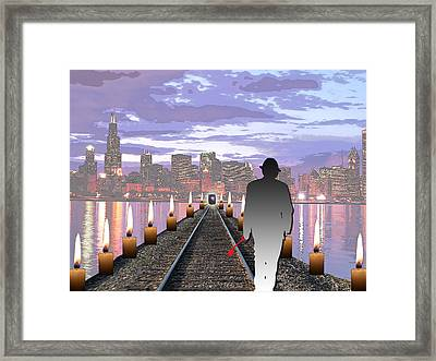 Head On Framed Print by Jimi Bush