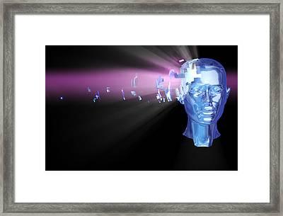 Headache Framed Print by Coneyl Jay