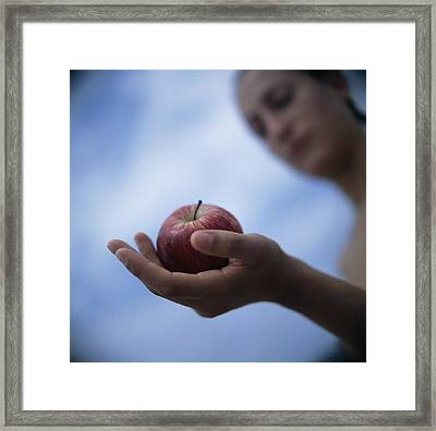 Healthy Eating Framed Print by Cristina Pedrazzini