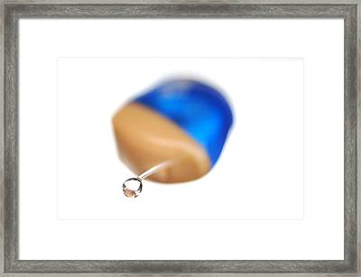 Hearing Aid Framed Print by Tim Vernon, Lth Nhs Trust