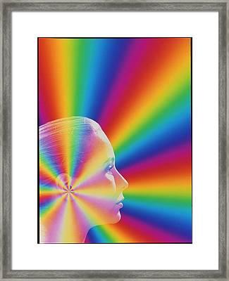 Hearing Framed Print by Mehau Kulyk