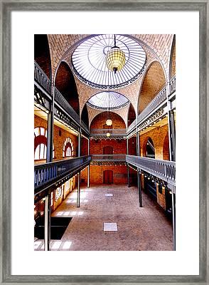 Hearst Mining Building Framed Print by Leori Gill