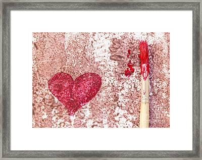 Heart  Framed Print by Igor Kislev