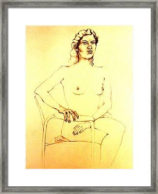 Heartless Framed Print by Nina Mirhabibi