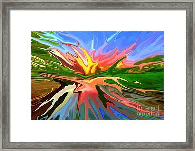 Heat Wave Framed Print by Chris Butler