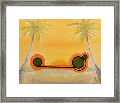 Heaven - Place Or State Of Bliss. Framed Print by Cory Green