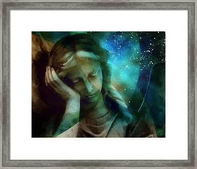Heaven Calls Me...but Framed Print by Gun Legler