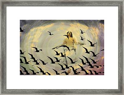 Heaven Sent Framed Print by Bill Cannon