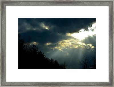 Heaven Sent Framed Print by Maria Urso