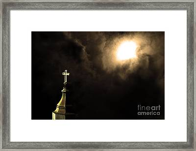Heaven.s Gate . 7d15002 Framed Print by Wingsdomain Art and Photography