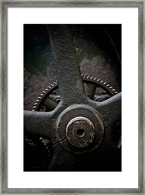 Heavy Equipment Framed Print by Odd Jeppesen