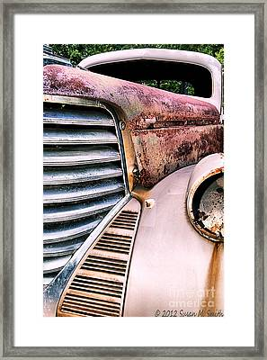 Heavy Metal Framed Print by Susan Smith