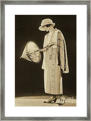 Hedda Hopper Framed Print by Padre Art