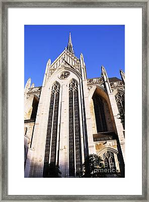Heinz Chapel Framed Print by Thomas R Fletcher