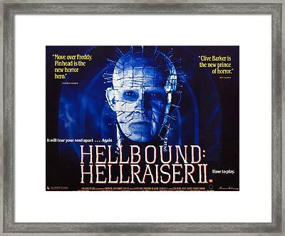 Hellbound Hellraiser II, Doug Bradley Framed Print by Everett