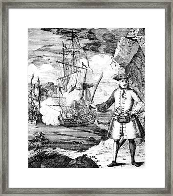 Henry Every C. 1653-c. 1712, Notorious Framed Print by Everett