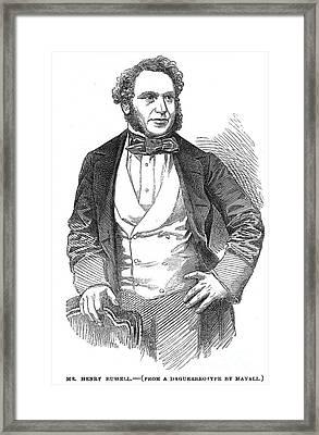 Henry Rusell (1812-1900) Framed Print by Granger