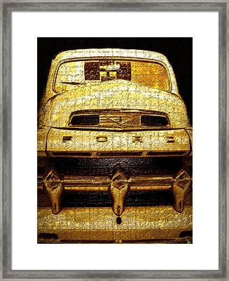 Henrys Ford Truck Framed Print by David Lee Thompson