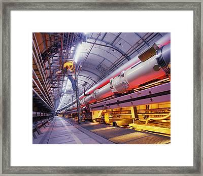 Hera Accelerator Ring, Desy Framed Print by David Parker