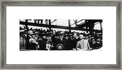 Herbert Hoover (1874-1964) Framed Print by Granger