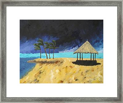 Here It Comes Framed Print by Silvie Kendall