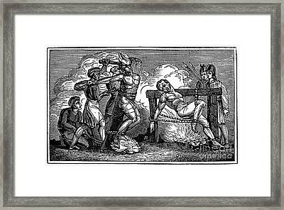 Heresy: Torture, C1550 Framed Print by Granger