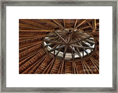 Hexadecagonal Framed Print by Fred Lassmann