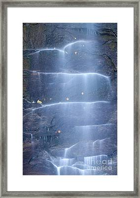 Hickory Nut Falls North Carolina Framed Print by Dustin K Ryan