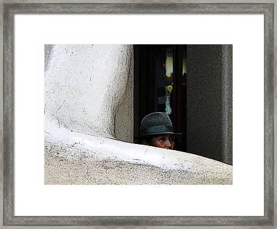 Hidden Artist Framed Print by Al Bourassa