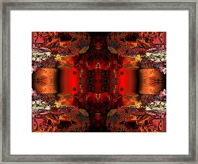 Hidden Chamber Of The Prince Framed Print by Claude McCoy