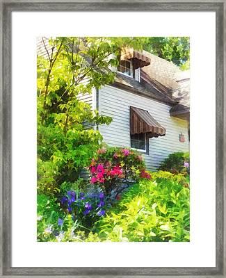 Hidden Garden Framed Print by Susan Savad